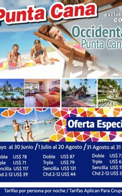 occidental puntacana 31 oct 2017