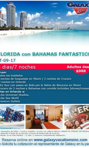 florida con bahamas sep 2017